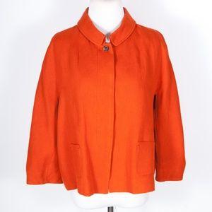 Piazza Sempione Italy 100% Linen Jacket 44 / US 8